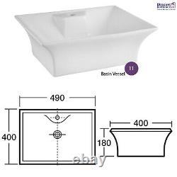 Athena Gloss Grey Mist Bathroom Furniture Vanity Cabinet Basin, WC, Bath Panel