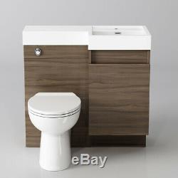 Back To Wall Bathroom Vanity Toilet Basin Sink Storage Cabinet R Collection only