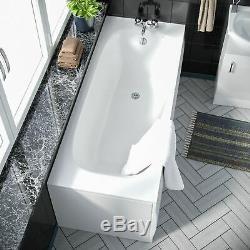 Back To Wall Toilet Basin Vanity Unit Bath 3 piece Bathroom Suite Elora