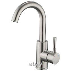 Basin Mixer Taps, GAPPO Bathroom Vanity Sink Bar Tap Single Handle 360 Degree