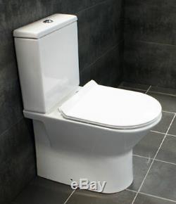 Bathroom Storage Vanity Sink Basin Unit + Rimless Toilet Suite 550 650 750 850mm