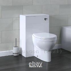 Bathroom Vanity Unit & Back To Wall WC Toilet Unit 1350 Pan Options 750 + 600