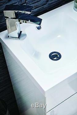 Bathroom-Vanity-Unit-Furniture-Back-to-Wall-WC-Unit-Basin-Sink-Grey-L-Shaped