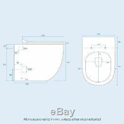 Bella Bathroom Grey Basin Vanity Furniture Unit WC Back To Wall Toilet LH 1100mm