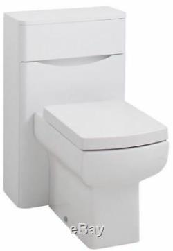 Contemporary White Ash Bathroom Furniture Storage Cabinet Sink Vanity Units WC