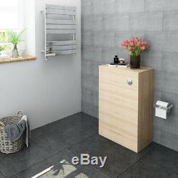 Floorstanding Back To Wall Bathroom Vanity WC Walunt/Oak-Color Unit Toilet
