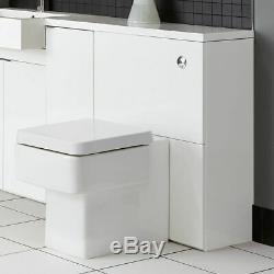 Mirror units Vanity Cabinet Sink Basin Tall Storage White Gloss Bathstore Myplan