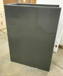 NEW, Grey, back to wall Toilet Unit, concealed Cistern & wall hung vanity unit