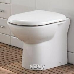 Premier Minimalist Compact Back To Wall Toilet and Cloakroom Suite