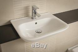 Rak origin Bathroom Suite Semi Recessed Basin & Back To Wall Toilet