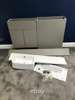 Vanity unit & basin with back to wall pan unit, Roper Rhodes R2