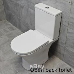 Zeus 800 or 900mm Quadrant Shower Cubicle Suite + 450mm Cloak Vanity Unit