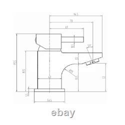 1100mm Combinaison Vanity & Toilet Set Back To Wall Pan & Seat Walnut Modern