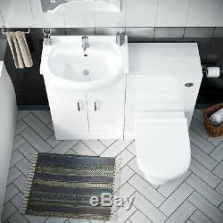 3 Salle D'eau Suite Retour Au Mur Toilettes Bassin Unité Et Vanity Bath Laguna