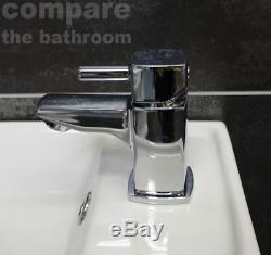 400mm Mur Hung Vanity Unit Bassin Évier Et Rimlesstoilet Set Salle De Bains Attenante