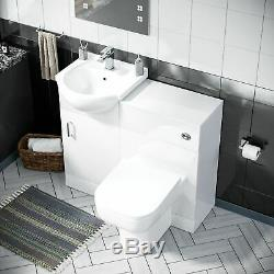450 MM Bassin Vestiaire Vanity Éviers Et Toilettes Retour À Wall Suite Debra