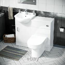 450 MM Flat Pack Vanity Cabinet, Bassin Et Retour Au Mur Toilette Suite Ingersly