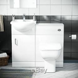450 MM Vestiaire Bassin Vanity Éviers Et Toilettes Retour À Wall Suite Ingersly