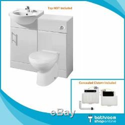 450mm Bathroom Furniture Meuble Sous Lavabo Cabinet Toilettes Bassin Dos Au Mur Vestiaire