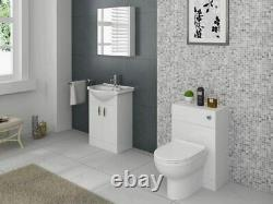 600/300mm Wc Unit White Gloss Bathroom Cloakroom Vanity Back To Wall Furniture (600/300mm Wc Unit White Gloss Bathroom Cloakroom Vanity Back To Wall Furniture 600/300mm Wc Unit White Gloss Bathroom Cloakroom Vanity Back To Wall Furniture
