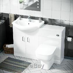 650 MM Bassin Vestiaire Vanity Éviers Et Toilettes Retour À Wall Suite Debra