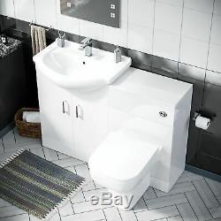 650 MM Vestiaire Bassin Vanity Éviers Et Toilettes Retour À Wall Suite Ingersly