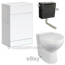 750mm Unité Vanity Basin Sink Retour À Wall Laura Toilettes Bathroom Furniture Suite