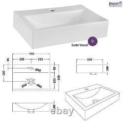 Athena Gloss Gris Mist Bathroom Furniture Vanity Basin Cabinet, Wc, Baignoire Panneau
