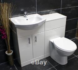 Bassin De Toilette De Cabinet De Meuble De Salle De Bains De Suite De Meubles De Salle De Bains De 1050mm Au Dos