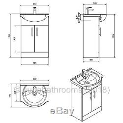 Bathroom Vanity Unit Retour À Toilettes Et Lavabo Meubles Suite & Seat