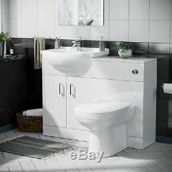 Blanc Bassin Meuble Sous Lavabo Dos Au Mur Wc Et Salle De Bains Suite Zebra Cistern