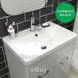 Curve Moderne Salle De Bains Suite Retour Au Mur Wc Vanity Unité Unité Toilettes Linton