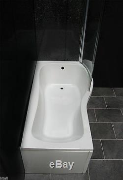 Douche Baignoire Suite P Forme Meuble Sous Lavabo Bassin Évier Retour À Toilettes Taps Nouveau