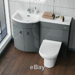 Ingersly Lavabo Lavabo Lavabo Gris Unité Toilette Toilette Toilette Lh 1100mm