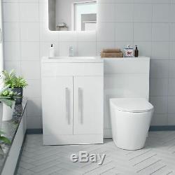 Lh Vanity Éviers Retour À Wc Mur Rimless Toilettes Salle De Bains Costume Aron