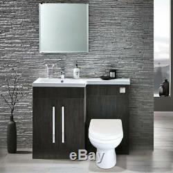 Melbourne Lh Bathroom Grey Lavabo Évier Lavabo Toilettes Toilettes