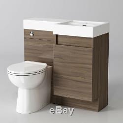 Meuble Sous Lavabo Moderne Salle De Bains Et Toilettes Bassin Évier Retour Au Mur Armoire De Rangement 906r