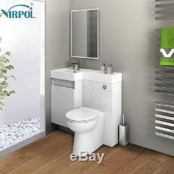 Nouvelle Salle De Bain Vanité De Combinaison Et Lavabo Retour Aux Toilettes Murale 906l