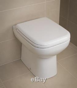Origine Rak Salle De Bains Suite Semi Encastré Et Bassin De Dos Au Mur Toilettes