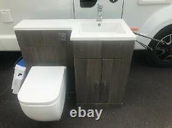 Rak Céramique Salle De Bain Retour Au Mur Toilettes / Pan & Lavabo Et Vanity Unit