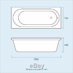 Retour Au Mur Toilettes Bassin Unité Vanity Bath 3 Salle D'eau Suite Elora
