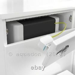 Salle De Bain Vanity Unit & Retour Au Mur Wc Toilettes Unité 1050 Pan Options