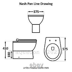 Salle De Bain Vanity Unit & Retour Au Mur Wc Toilettes Unité 950 Pan Options
