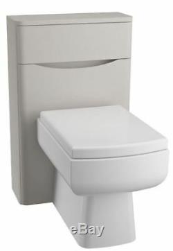 Salle De Bains Moderne Unités Gris Meubles Bassin Wc 2 Meuble De Toilette Tiroir