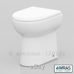 Salle De Bains Unité Vanity 450mm Basin Sink Linton Retour À Wall Toilettes Suite Meubles