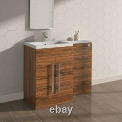 Salle De Bains Vanity Unit Btw Toilet Suite Basin Sink Cabinet Storage Tall Furniture