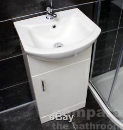 Suite Cabine De Douche Zeus 800 Ou 900mm Quadrant + Meuble Sous Lavabo Cape 450mm