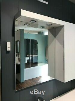 Unités Blanc Brillant Myplan Bathstore Vanity Cabinet Armoire Ensembles 600mm 1800mm