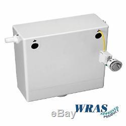 Veebath Lumin Gris Brillant Unité Vanity Dos Au Mur Toilettes 975mm Unité Meubles