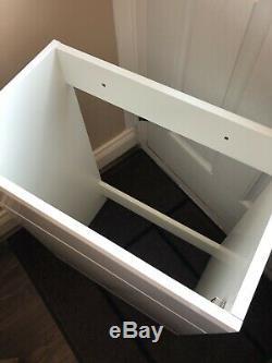 Victoria Plum Orchard Eden High Gloss Sink Vanity Unit / Retour À Mur Unité De Toilette
